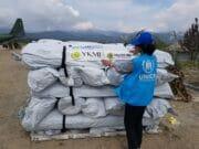 YKMI & UNHCR Berikan Bantuan Bagi Para Korban Gempa di Sulawesi Tengah