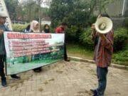 Tuntut Fasos Fasum, Warga GSM Gelar Demontrasi