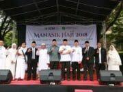 Pertama di Banten, Ribuan Siswa SMP Ikuti Manasik Haji