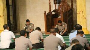 Tingkatkan Iman dan Takwa, Biro SDM Polda Banten Gelar Binrohtal