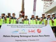 3 BUMN Bangun Rusun Terintegrasi 3 Stasiun di Tangsel dan Tangerang