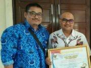 PDAM TB Kota Tangerang Raih Penghargaan Bidang KIP Prov. Banten