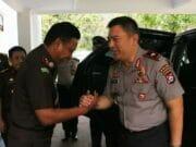 Pererat Silahturahmi, Kapolda Banten Kunker Ke Kajati