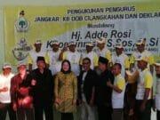 Jangkar KB Deklarasi Dukung Ade Rossi Khoerunnisa
