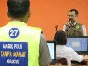 Biro SDM Polda Banten, Gelar SKD Bagi CPNS Polri