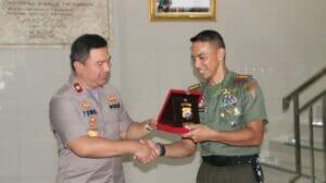 Sambang Mako Grup 1 Kopasus Kapolda Banten Perkuat Sinergitas