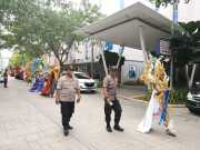Beri Kesan Nyaman Diwilayah Polisi Kawal Parade pemilihan Mister Grand Indonesia 2018