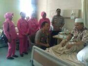 Korban Luka Tsunami, Kapolres Doakan KH. Djuhdi Suminta