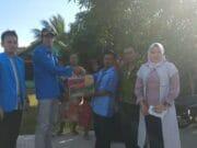 KNPI Kota Tangerang Salurkan Donasi Bagi Korban Tsunami dan Banjir Pandeglang