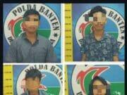 4 Pelaku Narkoba Ditangkap di 3 Lokasi Dalam Waktu Bersamaan