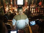 Nobar Debat Calon Presiden, Turidi : Prabowo Sandi Realistis Tanpa Teks
