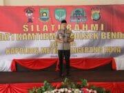 Silaturahmi Da'i Kamtibmas Polsek Benda, Kapolres : Sukseskan Pemilu Ciptakan Suasana Aman