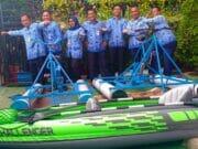 Ada 6 Unit Sepeda Air Di Kampung Wisata Air Karawaci