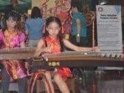 Musik Ghu Zen Iringi Malam Perayaan Imlek di Vihara Nimmala