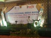 HPN, Media Massa di Tengah Terpaan Rudiantara : Pers Harus Selalu Berpikir Positif