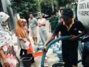 Pipa Bocor, PDAM TKR Salurkan Langsung Tanki Air Bersih
