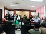 Langgar Perda, Satpol PP Kota Tangerang Sidang 29 PKL dan PT. GKS