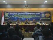 Pamsung Pemilu 2019, Satpol PP Bidang Linmas Beri Pembinaan & Penyuluhan