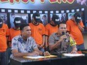 Lima Pelaku Curat Barang Ekspor Milik PT. DI Dibekuk Polisi