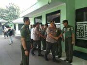 dandim 0506/Tgr Terima Kunjungan Kapolres Metro Tangerang Kota : TNI Polri Solid