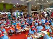 HUT DAMKAR, Ratusan Anak TK di Tangsel Ikuti Lomba Mewarnai dan Kreatifitas