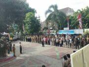 Gelar Pasukan PAM Pemilu 2019 Polsek Tangerang