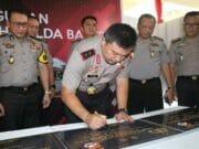 Kapolda Banten Resmikan Bangunan Polda dan Rusun Polres