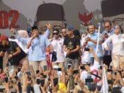 Puluhan Massa Pingsan, Kampanye Akbar Paslon 02 Tak Diizinkan Pakai Fasilitas Pemkot Tangerang