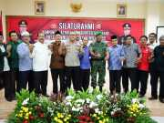 Bersama Seluruh Elemen Masyarakat Polresta Tangerang Ciptakan Rekapitulasi Kondusif