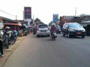 Pasca Perbaikan Oleh PUPR Provinsi Banten Jalan Depan Pasar Baros Mulai Lancar