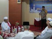Kapolres Rangkul Ulama Jaga kondusifitas Wilayah