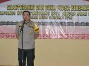Tingkatkan kemitraan, Kapolrestro Tangerang Kota Ajak Awak Media Bukber