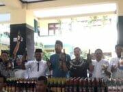 OTT Satpol PP Kota Tangerang, Ribuan Miras Berhasil Disita