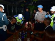 Satpomau Lanud Halim Perdanakusuma Razia Tempat Hiburan Malam