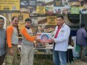 Rispanel Arya Kunjungi Posko Mudik PKS di Jayanti
