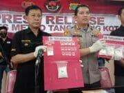 3 Pelaku Narkotika Ditangkap di Tiga Tempat Berbeda di Tangerang