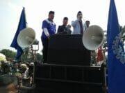 Gelar Aksi, Warga Dukung Walikota Tangerang