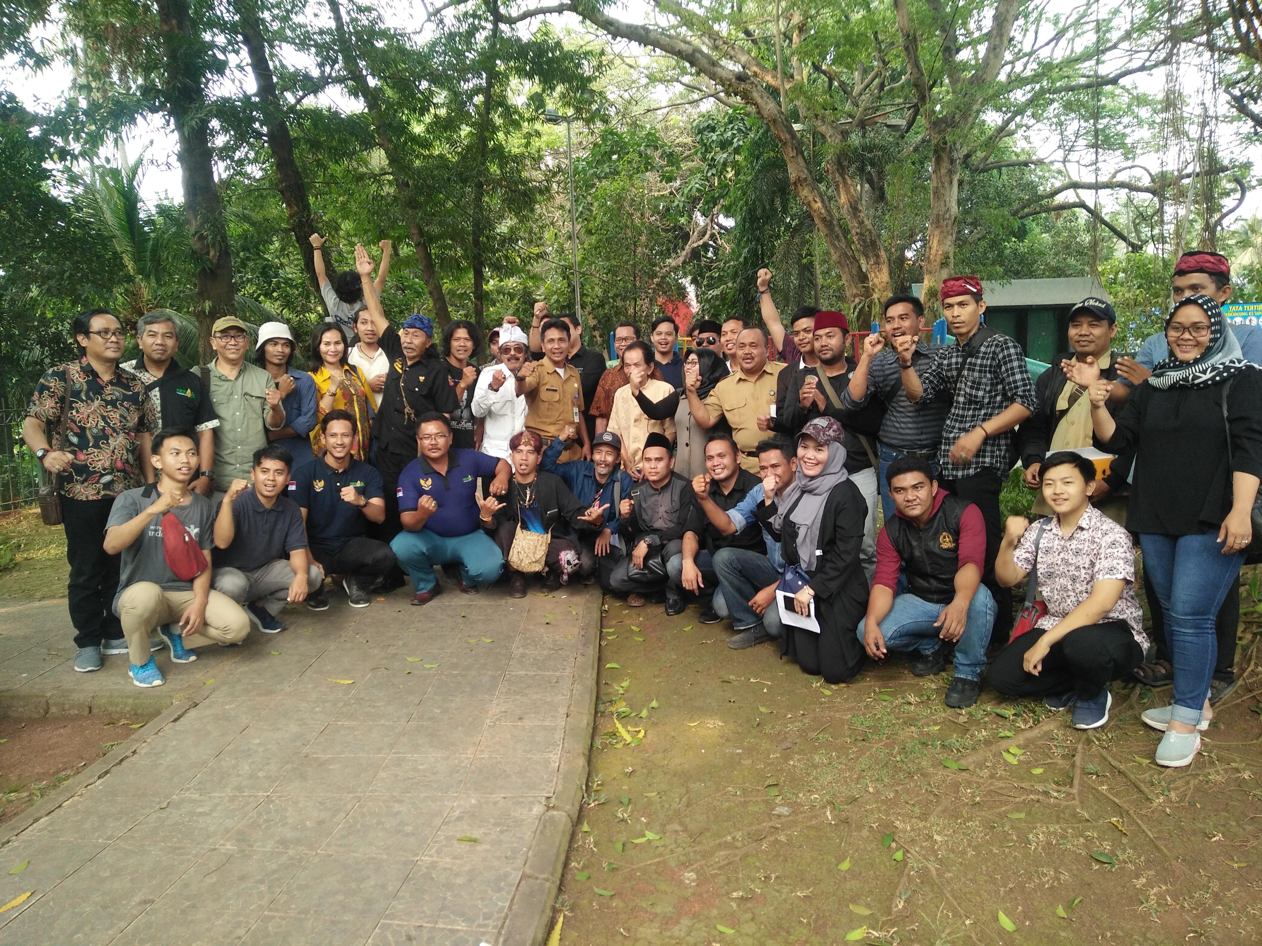 Disbudpar Kota Tangerang Dialog Budaya Bersama Komunitas Seni