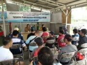 20 Peserta Diajarkan Usaha Steam di Kelurahan Bakti Jaya