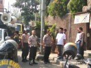 Keberangkatan Aksi Massa FSPMI & KASBI SMB SPMI, Dikawal Ketat Polisi
