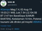 Gempa di Banten