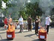 Barang Bukti Hasil Kejahatan dan Sitaan Dimusnahkan di Tangerang
