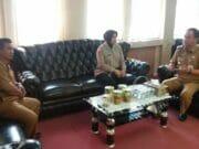 Sinergitas, AKP Yulies Kunjungi Camat Karawaci