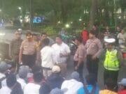 Antisipasi Tawuran, Kapolsek Tangerang Ayomi Ratusan Pelajar