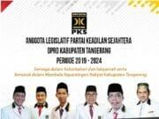 Resmi Dilantik, Ini Enam Anggota DPRD Kabupaten Tangerang dari PKS