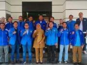 Sowan Ke Wakil Walikota Cilegon, KNPI Banten Sodorkan Program Kewirausahaan Pemuda