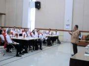 Arief Sampaikan Materi Membangun Tim Efektif Pada Diklat PIM IV di BBPK
