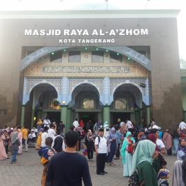 Usung Tema Hijrah Is Beautiful Festival Al-Azhom Resmi Dibuka