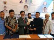 Tingkatkan Kerjasama, UT Serang Gandeng PWI dan KPID Banten