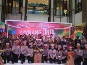 Cinta NKRI, Polres Metro Tangerang Kota Gelar Pentas Seni Asli Papua